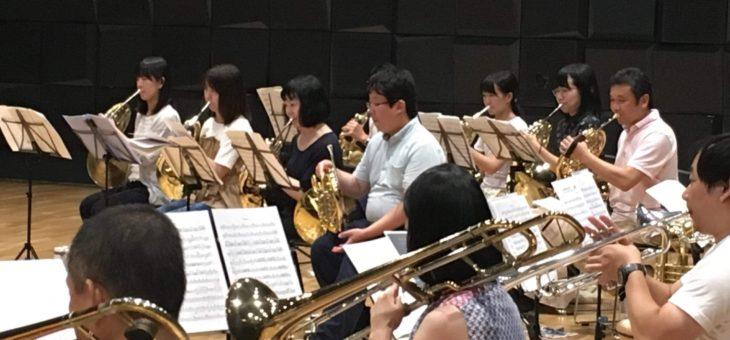第2回目のマエストロ新通氏によるトレーニング(2019/9/15)